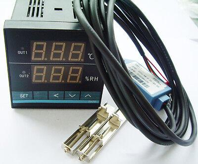 Digital Temperaturregler Temperaturmeßtech Temperature&Humidity Controler+Sensor
