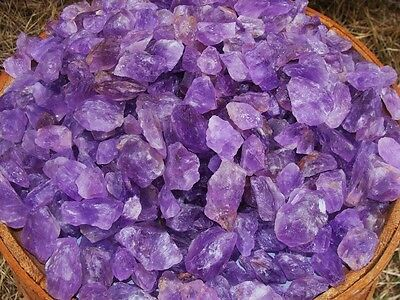 1000 Carat Lots of Unsearched Natural Amethyst Rough + a FREE Faceted Gemstone