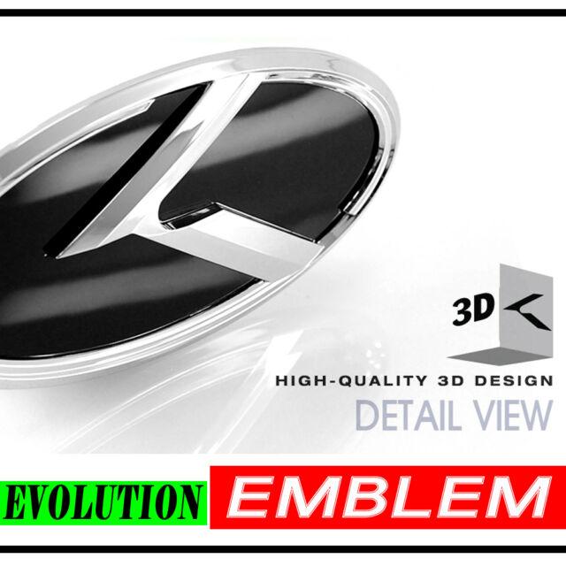 Front Hood Grill evolution Emblem 12.9cm For Hyundai Matrix Lavita
