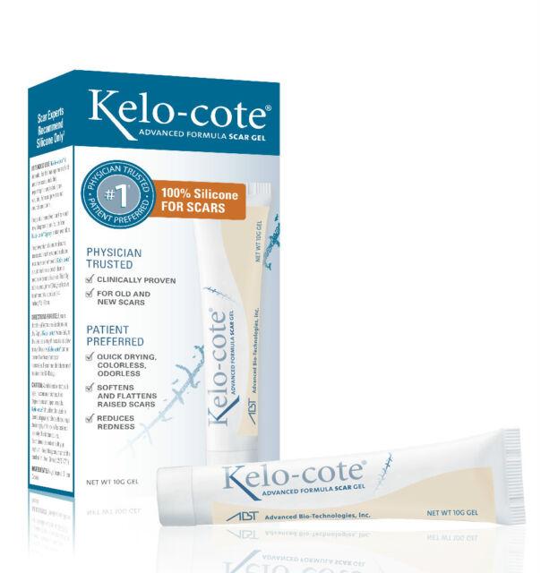 Kelo-cote Advanced Formula Scar Gel 10g -Topical Silicone Gel (Surgery - Skin)