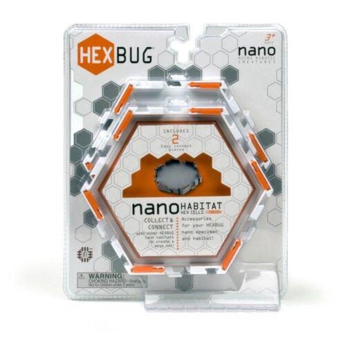Hexbug Robot Nano Habitat Set Expansión 2 Células Robots de Juguete Kit de Juego