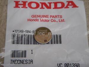 OEM Genuine Honda Acura Key Fob Transmitter Remote Keyless Entry CR2025 Battery | eBay