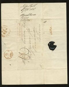 GB-1838-LETTER-GREAT-BARR-PP-DISTINCTIVE-BOXED