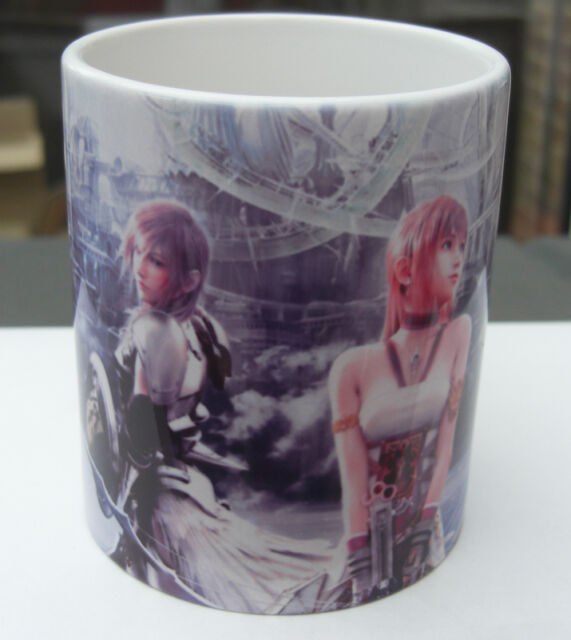 Final Fantasy 13 2 XIII-2 - Coffee art MUG - XIII
