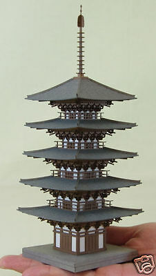 Sankei MP03-11 Temple Five-story Pagoda 1/150 N scale