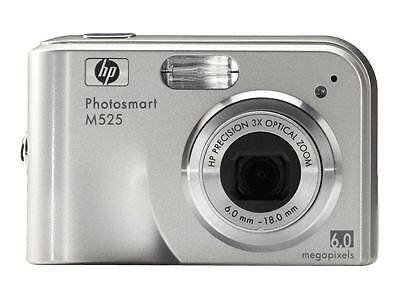 HP Photosmart m525 cámara digital de 6 megapíxeles relámpago vídeo USB l2103a