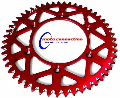 48 TEETH RFX CNC REAR SPROCKET RED  HONDA CR125/250 CRF250/450 98-12
