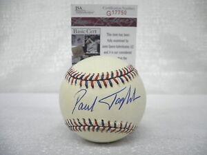 Paul-Tagliabue-Signed-Auto-NFL-1995-All-Star-Game-Baseball-Football-JSA