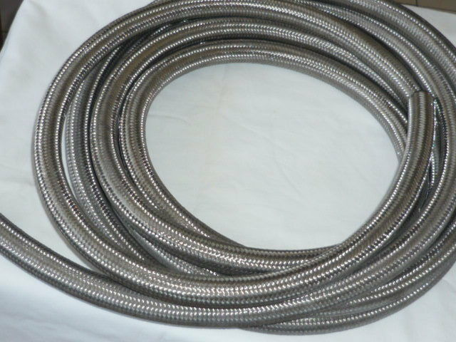 Remote Oil Filter Adaptor Hose - S/S Braided AN10 JACKMASTER good quality hose