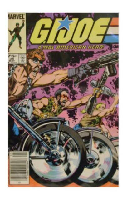 G.I. Joe, A Real American Hero #35 (May 1985, Marvel)  VF/NM