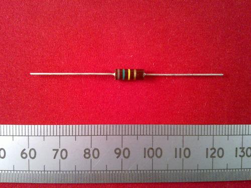 Ten Resistors 0.5 Watt 10K 0.5W 5/% Brown Carbon Resistor 820K Ohm Qty 10