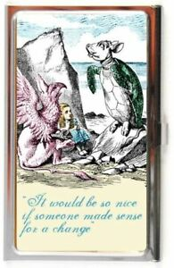 ALICE In WONDERLAND Mock Turtle Business Card Case Holder