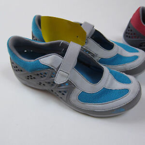 70-North-Face-Women-039-s-Hydroshock-Mary-Jane-Size-7-Grotto-Blue-Grey-NEW