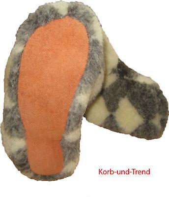 Hüttenschuhe Hausschuhe Schaffell Schuhe Schafwolle, Lammfell super Warm Trendy