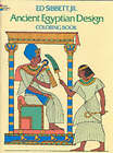 Ancient Egyptian Designs Coloring Book by Ed Sibbett (Paperback, 1979)