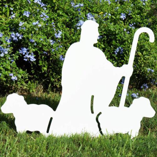 Nativity Shepherd with Sheep