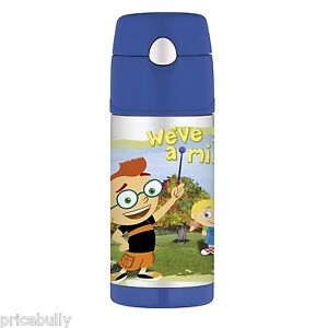 Thermos-Funtainer-Stainless-Steel-Little-Einsteins-Disney-Beverage-Bottle-12oz