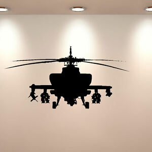 LARGE-ARMY-HELECOPTER-CHILDRENS-BEDROOM-WALL-MURAL-GRAPHIC-DECAL-STICKER-VINYL