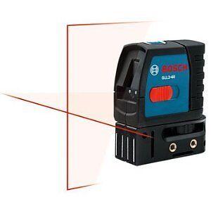 Bosch-GLL2-40-Self-Leveling-Cross-Line-Laser-Magnetic-Bracket-New-Tool-Warranty