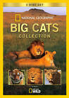 National Geographic: Big Cats Collection (DVD, 2011, 3-Disc Set)
