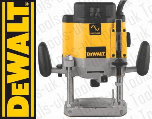 """DeWALT DW625EK DW625 2000W 240V 1/2"""" Professional Variable Speed Plunge Router"""