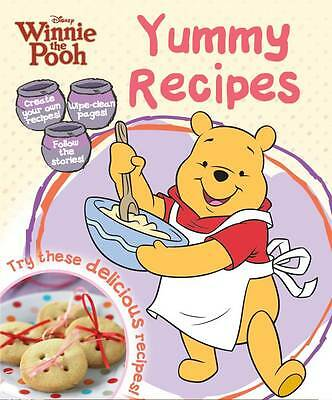 """AS NEW"" Disney, Disney Winnie The Pooh's Yummy Cookbook, Spiral-bound Book"