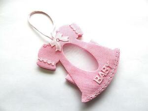 12-Pink-Baby-Shower-pouches-It-039-s-a-Girl-New-3-034-x3-5-034-H