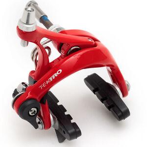 Road-Bike-Caliper-Brake-FRONT-RED-Short-Reach-39-49mm-Tektro-R320-250-028