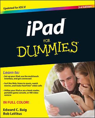 iPad 2 For Dummies by Baig, Edward C.; LeVitus, Bob