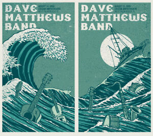 Dave Matthews Band Poster West Palm Beach