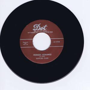 SANFORD-CLARK-MODERN-ROMANCE-LOVE-CHARMS-GREAT-JIVIN-039-ROCKABILLY-REPRO