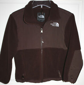 EUC-Girls-Brown-North-Face-Denali-Jacket-Size-Small