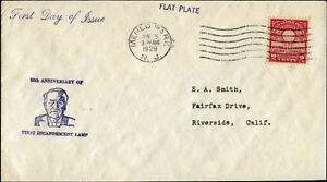 #654-10 U.S. FIRST DAY COVER CACHET BM9551