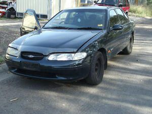 WRECKING-FORD-FALCON-EL-petrol-flap-SOLONOID-CABLE