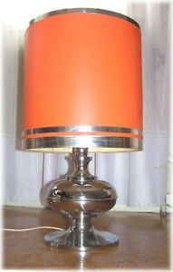 Lampe-Vintage-Orange-An-70-039-s