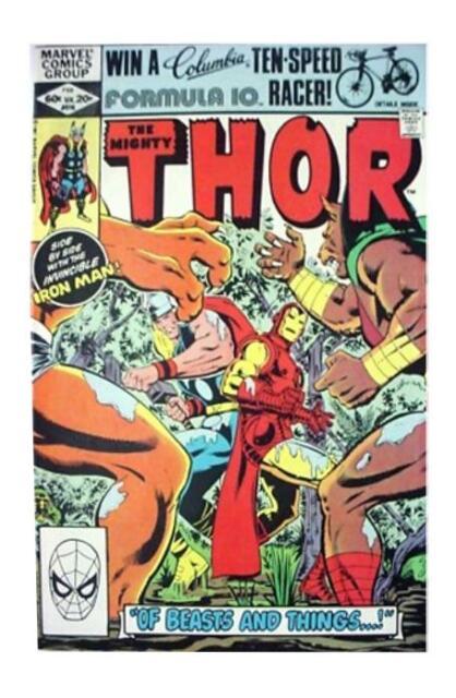 Thor #316 (Feb 1982, Marvel) VF