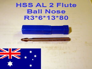 HSS-AL-Two-Flute-Ball-Nose-3mm-Radius-Straight-Shank