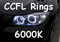 CCFL XENON ANGEL EYES HALO RINGS 6000K fit Ford Mondeo MK3 00-07 Saloon