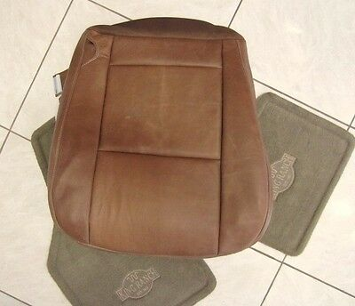 04 05 06 Ford F-350 4x4 Diesel F350 Driver Bottom King Ranch Leather Seat Cover