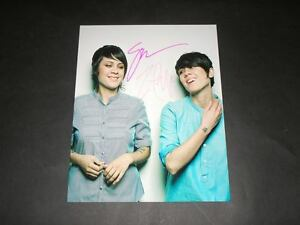 TEGAN-SARA-PP-SIGNED-10-X8-PHOTO-PRINT-REPRO