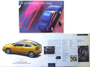 renault megane brochure 1996