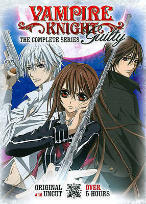 Vampire Knight Guilty ~ The Complete Series ~ BRAND NEW DVD SET
