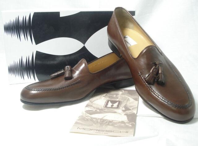 Moreschi Men's Meta Congnac Brown Leather Shoes Size 6 W BRAND NEW!! SALE!!