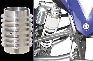 YFZ450 LTZ400 TRX450R DS450 KFX450R Pro-Tec front shock cooler / protector set