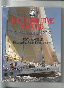 SAIL-Third-Time-Around-by-Fairchild-1991-First-Ed-Alone-BOC-CHALLENGE-1990-91