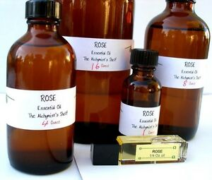 Rose essential oil special wiccan craft 4oz pagan altar ritual spell ebay - Rose essential oil business ...