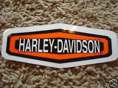 New Harley Davidson Bold Logo Window Decal Sticker