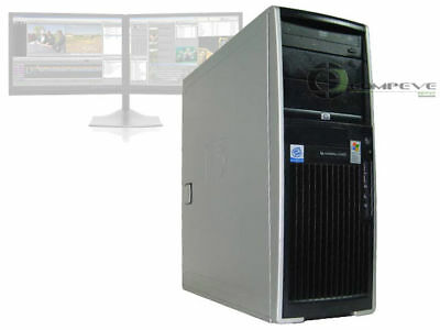 HP XW4300 Workstation Intel Pentium 4 CPU 3.2GHz 2GB 80GB Desktop Computer PC
