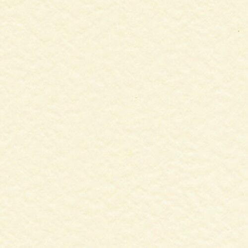 50 hojas de A5 Tarjeta Blanco Marfil Crema Martillado o 250gsm