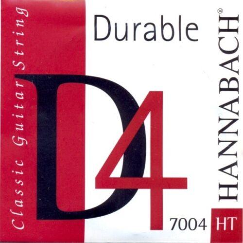 Hannabach 7004 Durable haltbare d-Saite für Gitarre